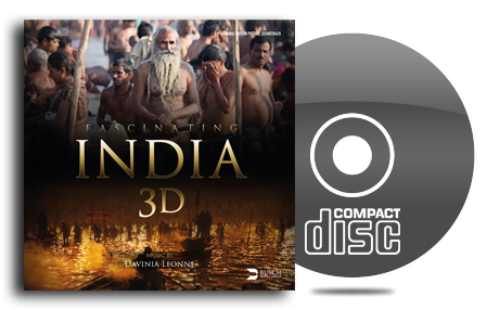 Soundtrack von Fascinating India 3D